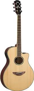 Yamaha APX600 NA Thin Body Acoustic-Electric Guitar, Natural
