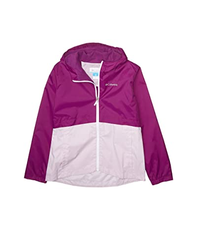Columbia Kids Rain-Zillatm Jacket (Little Kids/Big Kids) (Plum/Pale Lilac) Girl