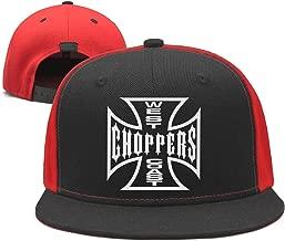 Unisex West-Coast-Choppers-Motorcycle-Logo- Rugged Baseball Caps Vintage Cool Cricket Cap