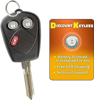 For 05-09 Saab 9-7x Keyless Entry Remote Key Fob 3btn Uncut W/ PK3 Chip SFU1008552