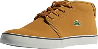 Lacoste Junior Boys Ampthill Trainers Sneakers in Tan