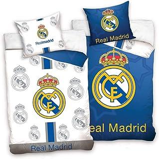 Real Madrid CF - Juego de Funda nórdica y Funda de Almohada
