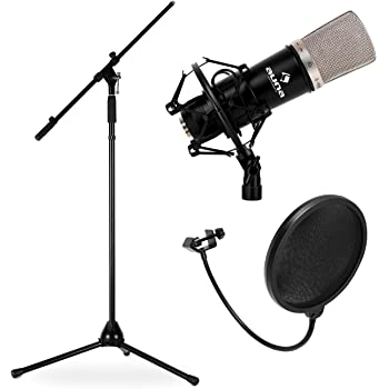 Electronic star Pack Micrófono estudio (micro condensador ...
