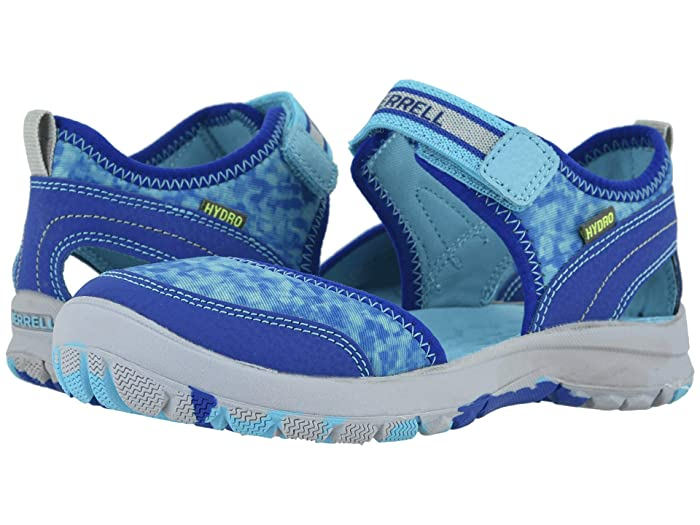 Merrell Kids  Hydro Monarch 3.0 (Toddler/Little Kid/Big Kid) (Blue/Turquoise) Girls Shoes