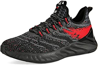 Mens Comfortable Running Shoes TAICHI King Adaptive Smart Cushioning Supportive Training Sneakers for Walking, Tennis, Fitness, Gym