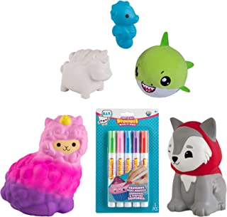 The Orb Factory Soft'n Slo Squishies Variety Bundle - Cute Fidget & Sensory Toys for Boys & Girls. Best Gift for Kids!, Multicolor (1351400300)