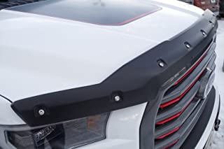FormFit Textured Black Tough Guard Hood Protector Bug Shield Fits 2015-2018 Ford F-150
