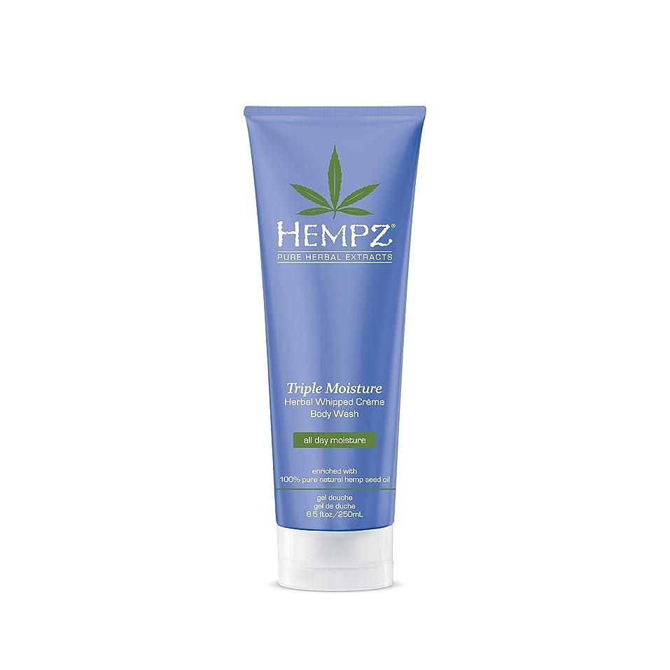 取るに足らないエレベーター代数的Hempz Triple Moisture Herbal Whipped Creme Body Wash, 8.5 Fluid Ounce