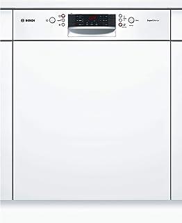 Bosch SMI46NW03E Serie 4 - Lavavajillas integrado (A++, 60 cm, 266 kWh/año, 14 MGD, supersilencioso, pantalla de 7 segmentos, secado extra, cajón vario)