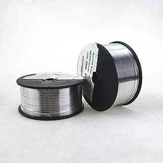 AWS A5.10 ER5356 Aluminum MIG Welding Wire Al-Mg Alloy 0.5KG dia 0.8/1.0/1.2mm suit for aluminum TIG MIG Welding Soldering (1.0mm/.04