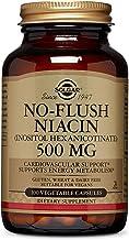 Solgar – No-Flush Niacin (Vitamin B3)(Inositol Hexanicotinate) 500 mg, 250 Vegetable Capsules