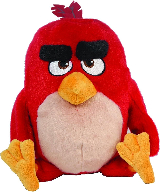contador genuino Angry Birds Movie 11  Talking Feature Plush Plush Plush rojo  presentando toda la última moda de la calle