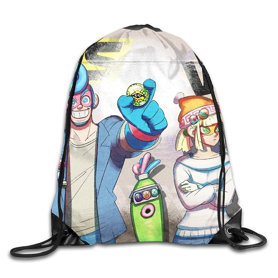 バン世論調査マラドロイトARMS 3 ジムサック ナップサック ライトバック 通学 運動 旅行に最適 メンズ レディース 兼用 バッグ 防水仕様 巾着袋 軽量