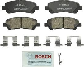 Bosch BC1325 QuietCast Premium Ceramic Disc Brake Pad Set For 2008-2013 Toyota Highlander; Rear