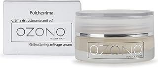 OZONO H&B Crema Viso Antirughe Ristrutturante Professionale Pulcherrima - Olio Ozonizzato - Estratti Naturali - Antibatter...