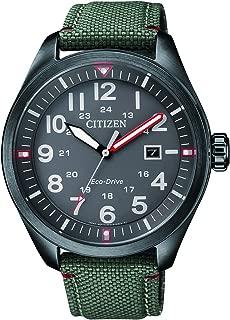 Reloj Analógico para Hombre de Cuarzo con Correa en Tela AW5005-39H
