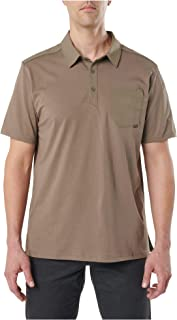 5.11 Tactical Men's Axis Short Sleeve Polo, Poly-Cotton Fabric, Abrasion Resistant, Style 41219