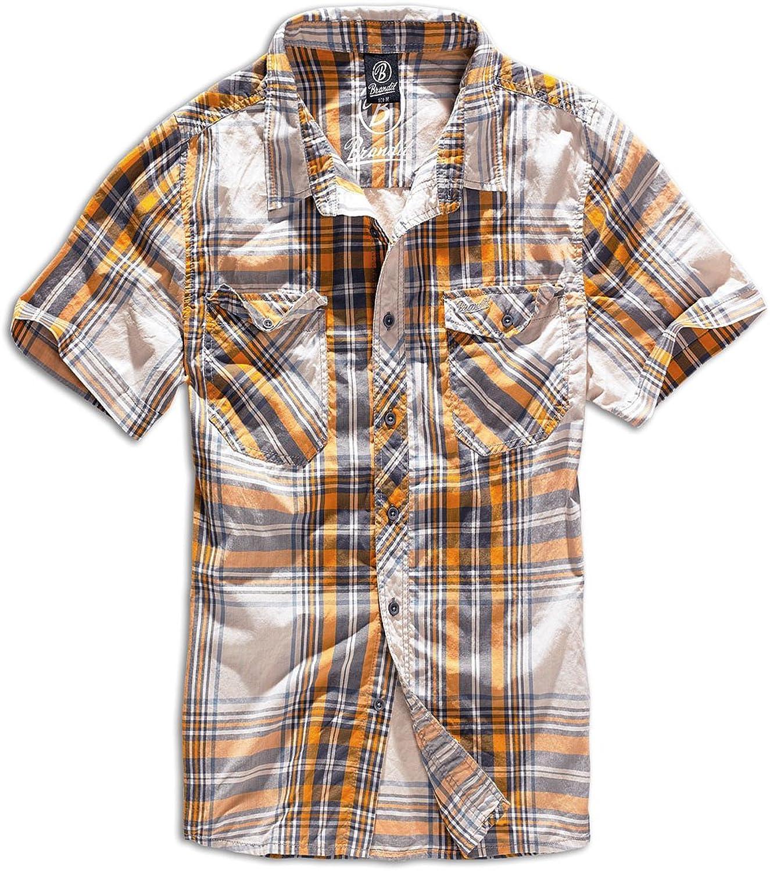 Brandit Men's Roadstar Shirt Sand Yellow