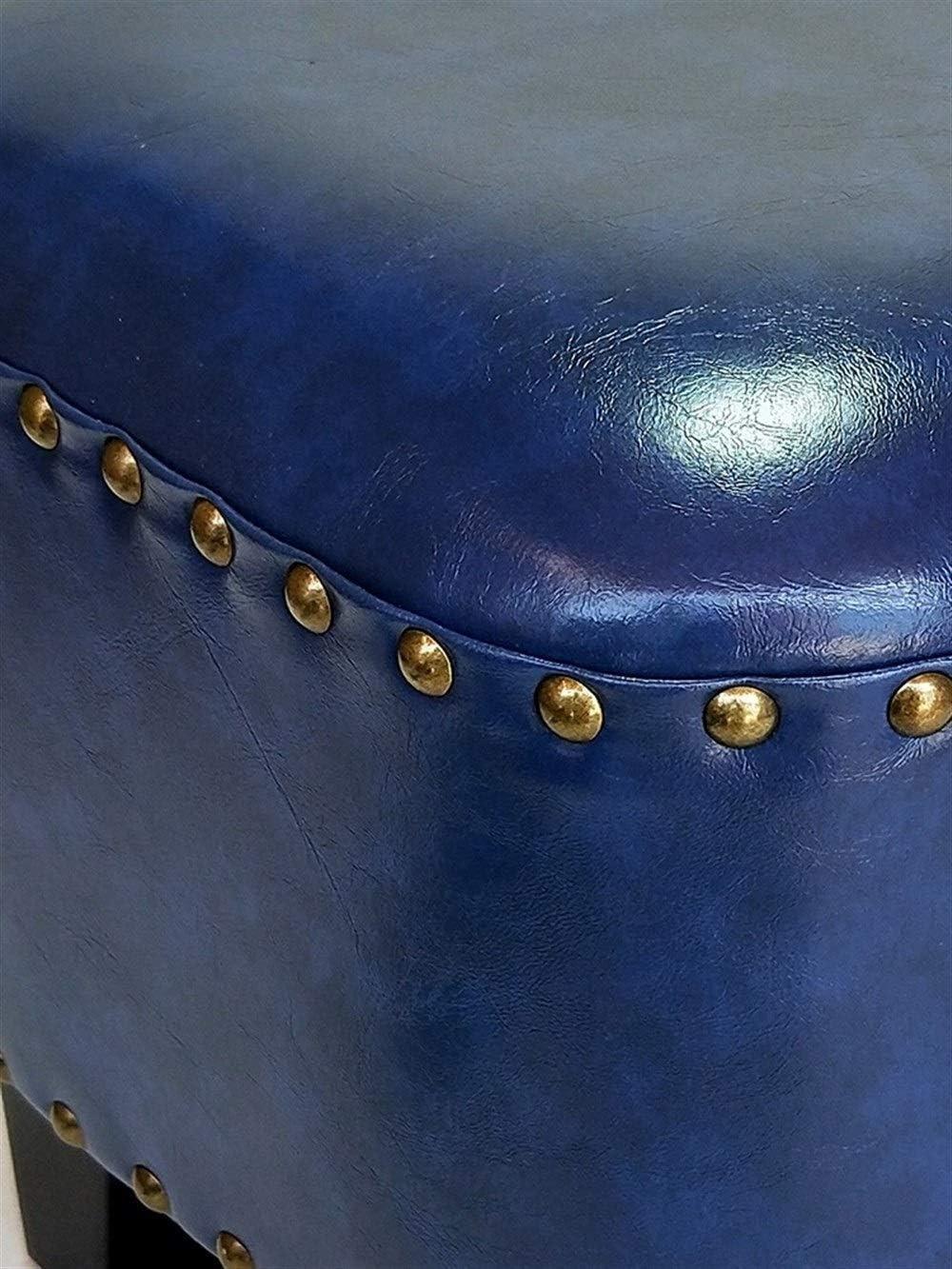 LONGren Osman canapé Banquette légère Chaussure rembourrée Confortable Tabouret de Maquillage Coussin Salon Chambre Petite Chaise / 11.8x11.8inches (Color : Style7) Style4