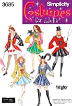 Simplicity Sewing Pattern 3685 Misses Costumes, HH (6-8-10-12)