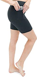 Oh So Soft High Waist Biker Shorts with Pocket, Lightweight, Durable and Stretchy, for Women