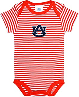 Auburn University Tigers Striped Baby Bodysuit