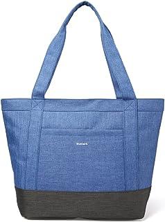 Sumerk Nylon Tote Bag for Women Large Work Tote Bag Shoulder Travel Totes Beach Bag