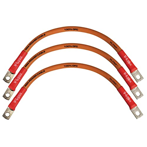 """14/"""" Battery Interconnect Link Cable 100/% Copper for SOLAR BATTERY BANK INVERTER"""