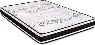 Colchón 150 x 190 Viscoelástico Termoregulable con Grafeno | Alta Resistencia | Certificado Sanitized y Oeko-Tex (Todas las medidas)