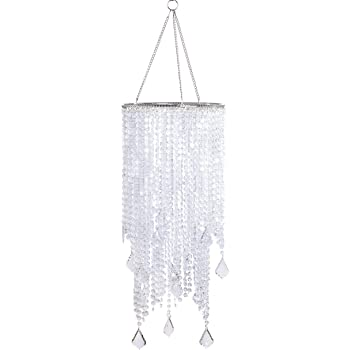 Brand New Wall Pops Silver Glamour Ready To Hang Chandelier Icicles