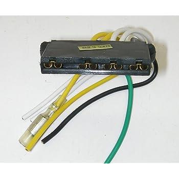 [ZHKZ_3066]  Amazon.com: Parts Master 84010 6-Wire 4-Terminal External Voltage Regulator  Connector for Ford Products: Automotive | 1988 Ford Voltage Regulator Wiring |  | Amazon.com