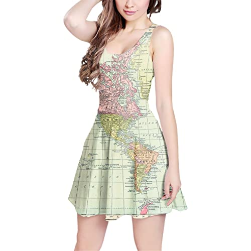 Map Dress: Amazon.com on map black, map rail, map blouse, map travel, map jacket, map skirt, map sweatshirt, map art, map vest, map clothing, map fabric, map shirt, map costume, map games, map school, map shoes, map history, map with title, map pants,