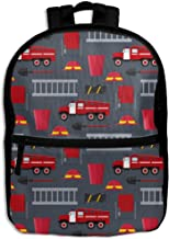 Firefighter Profession Equipment And Tools School Backpack Travel Bags Bookbag For Kids