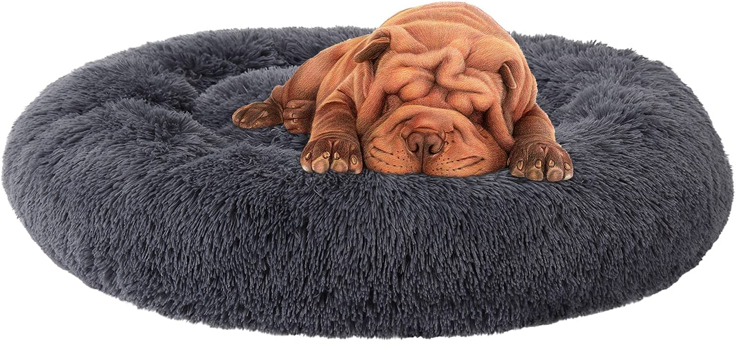 Sale special price CAROMIO Calming Dog Bed for Dogs Rare Large Small Medium Anti-Anxiety