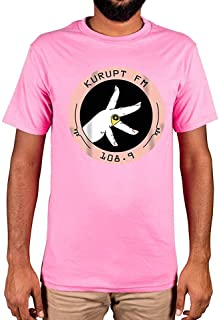 Kurupt Fm Throw up Your K's Limited Edition T-Shirt 108.9 Chabuddy G Black,X-Large,Pink