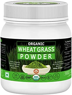 Organic Wheat Grass Powder-16 Oz/1 lbs,USDA Certified I 100% Pure&Natural I Nutritional Content of Favorite Green Smoothie...