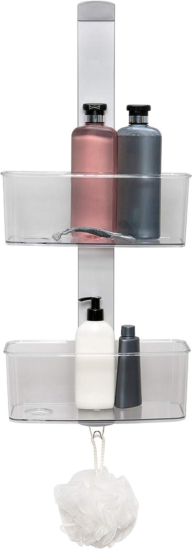 Miami Mall Bath Bliss Adjustable Rust Proof Aluminum Shelving 2 Hangin Tier New mail order