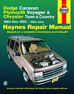 Dodge Caravan, Plymouth Voyager & Chrysler Town & Country (84-95) Haynes Repair Manual