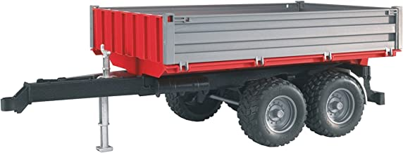 Bruder Tipping Trailer With Grey Sides