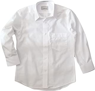 Concord Boys Long Sleeve White Dress Shirt