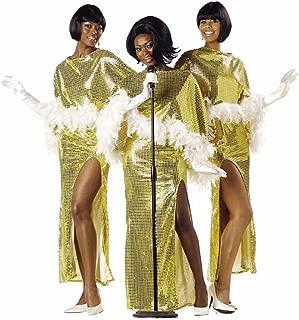 Diva Motown Singer Costume (Size: Large 10-12)