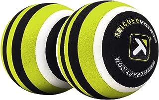 Trigger Point Performance Punto de activación Unisex MB2Doble Bola de Masaje Roller para Alivio de Espalda y Cuello, Color Verde, Talla única