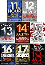 James Patterson Womens Murder Club Series 6 Books Collection Set (Books 13-18)