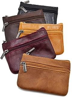 CoinZip Mini Purse Wallet Key Chain Double Zipper packing list