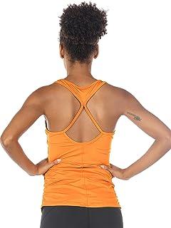 34f8ab2ce0112 icyzone Débardeur de Sport Tops Yoga Femme - Running T-Shirt Fitness  Elastic Vest