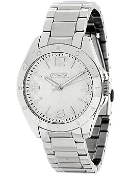 COACH Tristen Stainless Steel Bracelet Watch,Silver