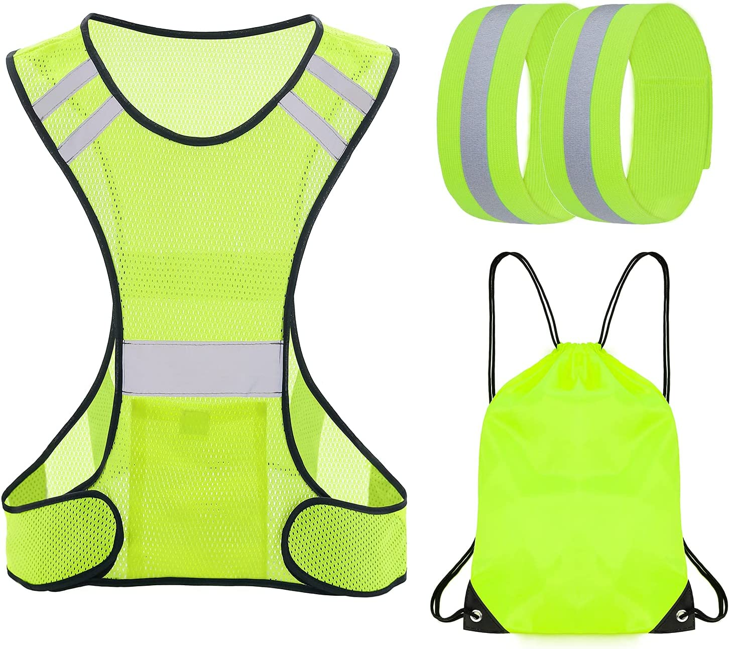 TCCFCCT Reflective Running Vest for High S Men All items free shipping Women Ranking TOP4 Visibility