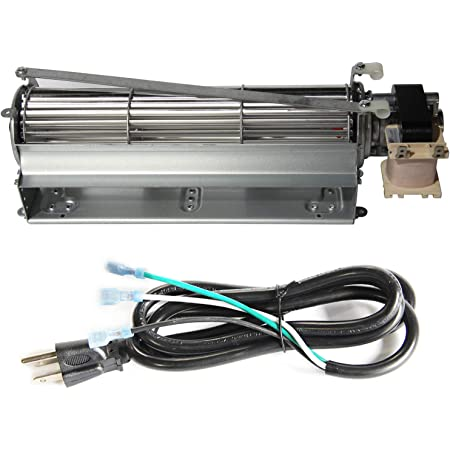 Vicool Fk12 Fireplace Blower Fan Kit With 3 Prong Power Cord For Majestic Vermont Castings Monessen Temco Rotom Hb Rb12 Kitchen Dining