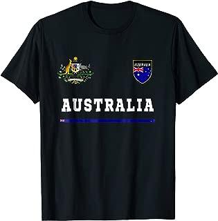 Australia T-shirt Sport/Soccer Jersey Tee Flag Football