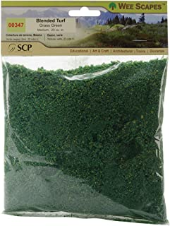 Simi Creative Products Blended Turf 20 Cubic Inches, Grass Green